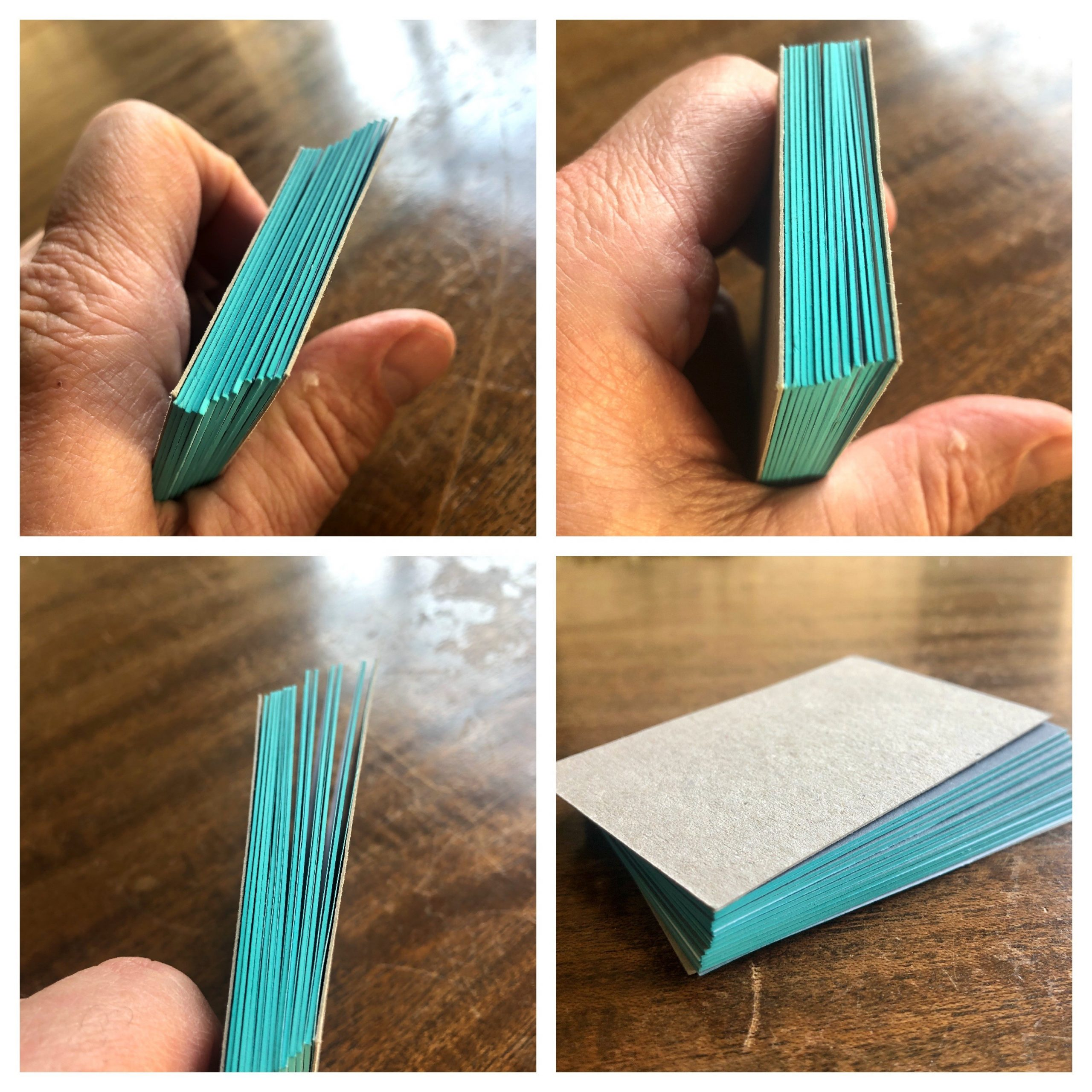 Edge Painted Business Cards by Quality Printing Londin